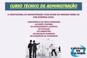 O profissional de Administração atua gerindo as rotinas administrativas de uma empresa - o que envolve desde pessoas e processos até os custos.  Não perca tempo e se prepare para este mercado de trabalho!!!