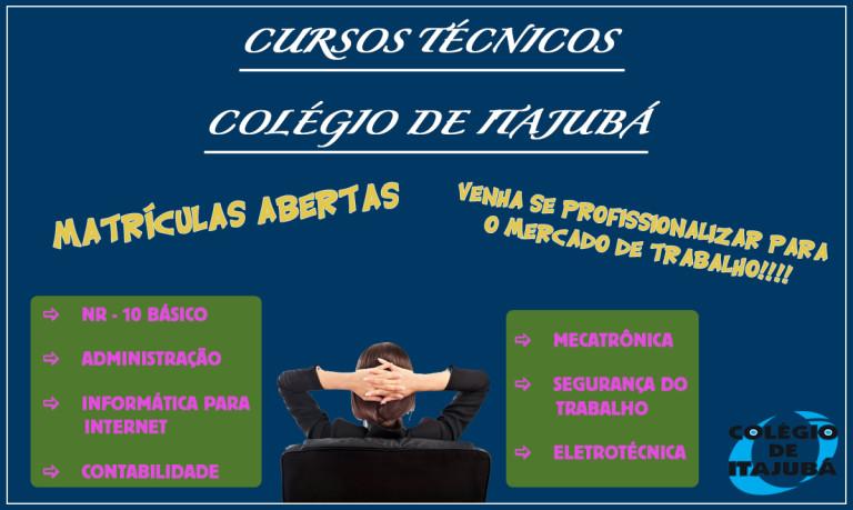 VENHA ESTUDAR NO COLÉGIO DE ITAJUBÁ!!!!!!!!  Matrículas abertas!!!!