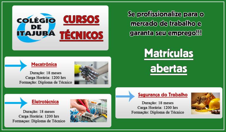 Venha estudar no Colégio de Itajubá e se profissionalizar para o mercado de trabalho!
