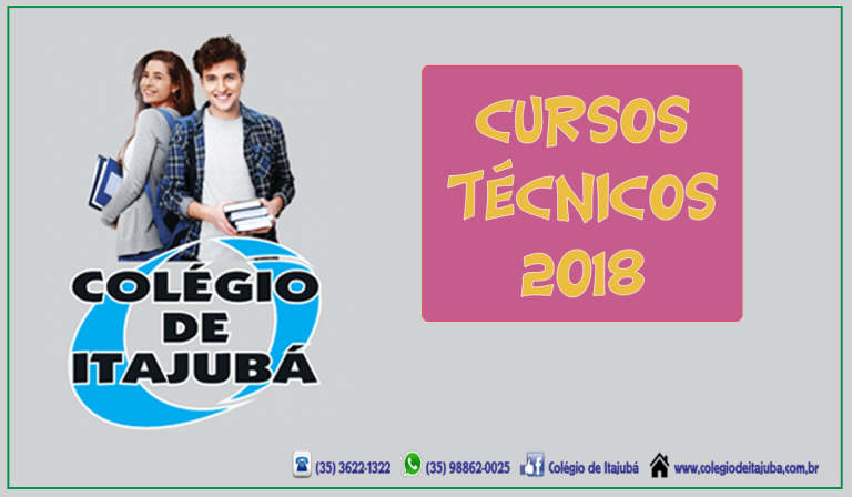 Cursos técnicos de 2018!!!