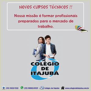 Venha para o Colégio de Itajubá!