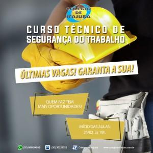 SEGURANÇA DO TRABALHO NO DIA 25/02!!