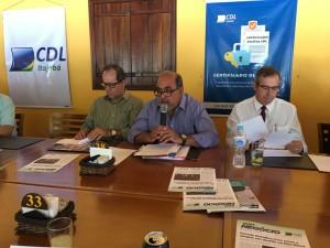 Reunião do Colégio de Itajubá com a Diretoria e Conselho da CDL!