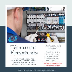 Técnico em Eletrotécnica!