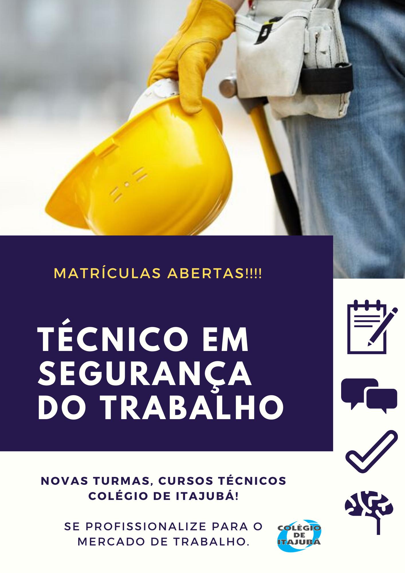 SEGURANÇA DO TRABALHO!
