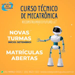 Curso Técnico de Mecatrônica online