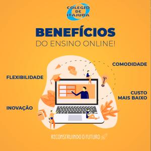 Benefícios do Ensino Online!