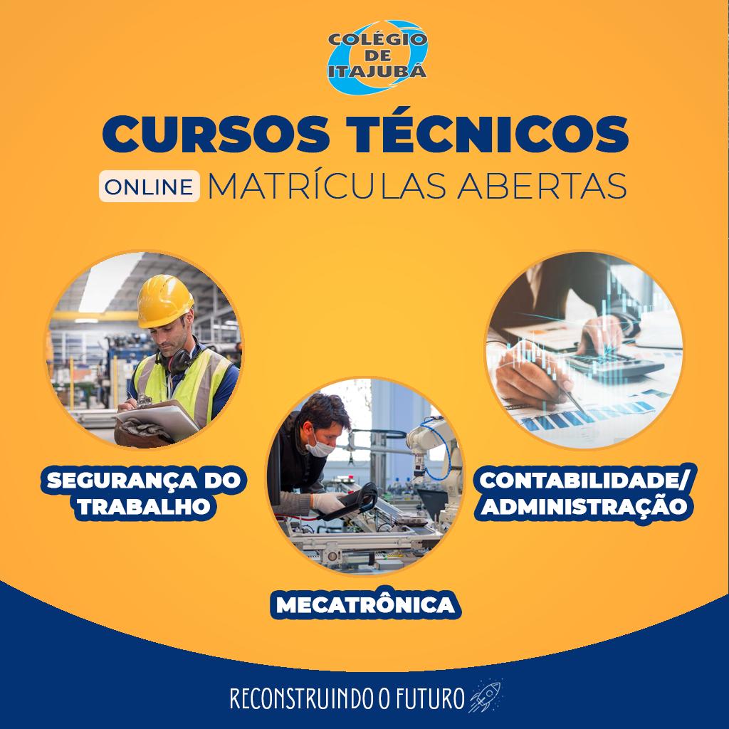 Venha fazer um curso técnico no Colégio de Itajubá!