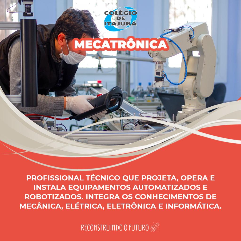Curso para Técnico em Mecatrônica!
