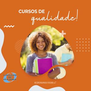 CURSOS DE QUALIDADE!!