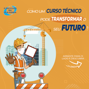 Como um curso técnico pode transformar o seu futuro! 👇