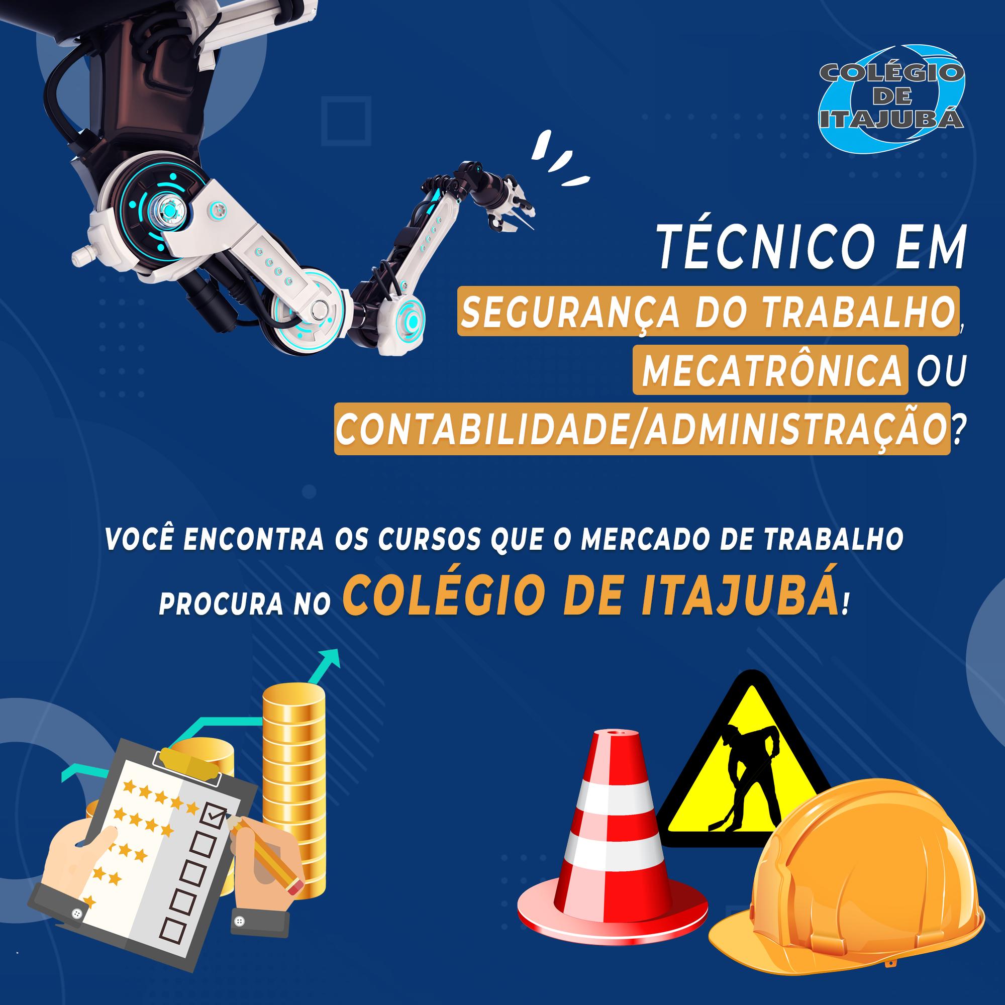 Matricule-se em nossos cursos técnicos!