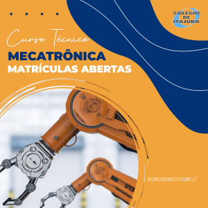 Curso técnico de Mecatrônica