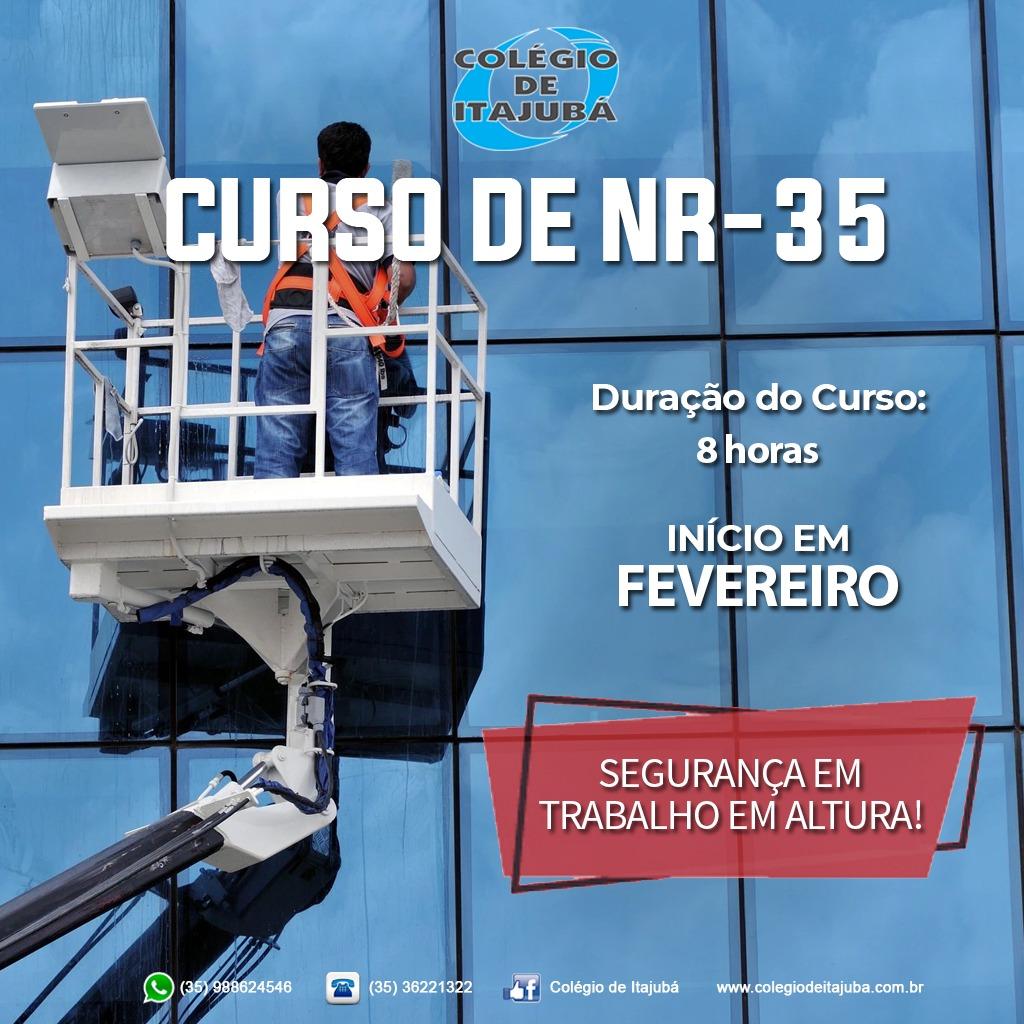 Vagas abertas para NR-35