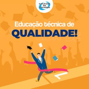 Venha para o Colégio de Itajubá e profissionalize-se. ✅