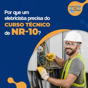 Norma NR-10 para um eletricista.