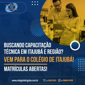 Novas turmas para os cursos técnicos do Colégio de Itajubá